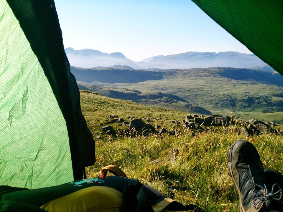 Weekend Wild Camping in Snowdonia
